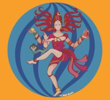 Shiva Shakti Dancer by mindofpeace