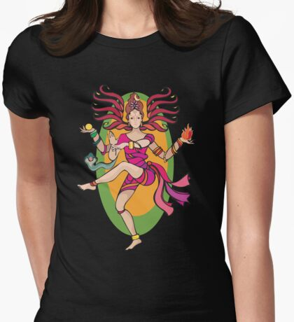 Shiva Shakti Womens Fitted T-Shirt