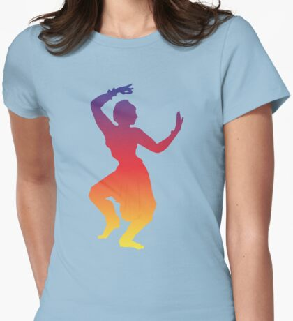 Shakti Dancer Womens Fitted T-Shirt