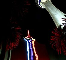 Stratosphere - Las Vegas by Honor Kyne