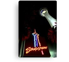 Stratosphere - Las Vegas Canvas Print