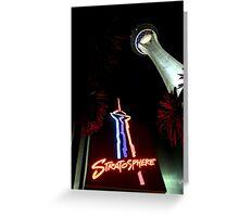 Stratosphere - Las Vegas Greeting Card