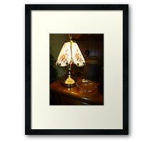 Lamp At The Sale Framed Print