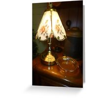 Lamp At The Sale Greeting Card