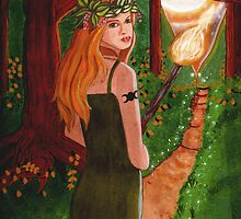 Beltane Fire by CarolOchs