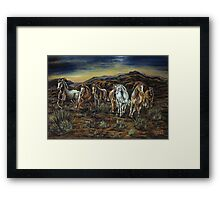 Before Barbed Wire Framed Print