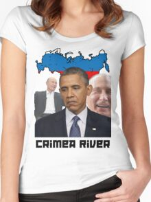 Crimea River - Inspire by Crimea Women's Fitted Scoop T-Shirt