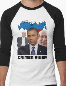 Crimea River - Inspire by Crimea Men's Baseball ¾ T-Shirt