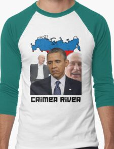 Crimea River - Inspire by Crimea Men's Baseball ¾ T-Shirt
