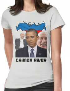 Crimea River - Inspire by Crimea Womens Fitted T-Shirt