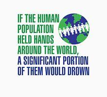 Hands around the world Unisex T-Shirt
