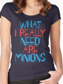 Minions Women's Fitted Scoop T-Shirt