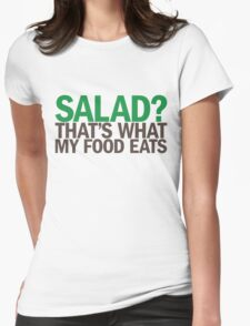 Salad? Womens Fitted T-Shirt