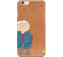 Tommy is having a bad day iPhone Case/Skin