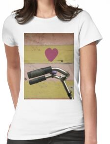 love bicycle Womens Fitted T-Shirt
