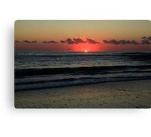 Burleigh Heads Sunrise Canvas Print