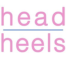 Head Over Heels Photographic Print