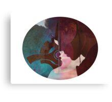 Anakin & Padme Canvas Print