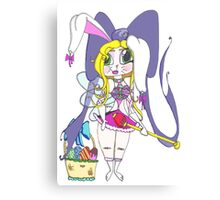 Easter Nymph Cartoon Canvas Print