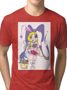 Easter Nymph Cartoon Tri-blend T-Shirt