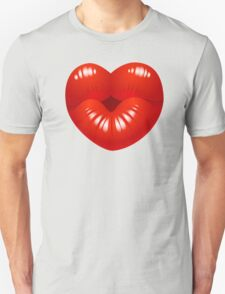 Heart Kiss Cool Kids Clip Art T-Shirt