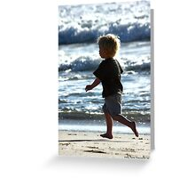 Freedom Runner Greeting Card