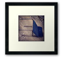 "Blue ""Recliner"" on Broadway Framed Print"