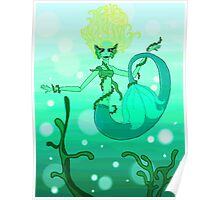 Seaweed Girl Poster