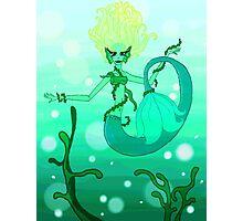 Seaweed Girl Photographic Print