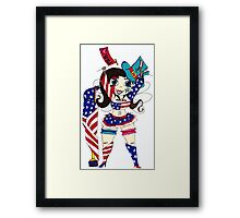 Fourth of July Nymph Framed Print