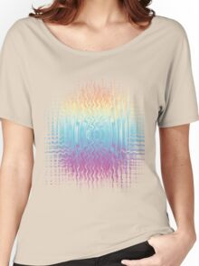 Psychedelic Glitch  Women's Relaxed Fit T-Shirt