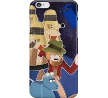 Doctor Who Adventure Time style iPhone Case/Skin