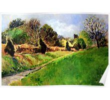Light-Filled Landscape (Smoky Landscape) Poster