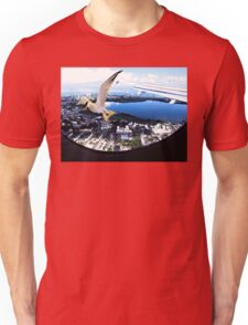Soaring about the clouds Unisex T-Shirt