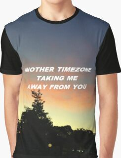 """Taking me away from you"" Graphic T-Shirt"