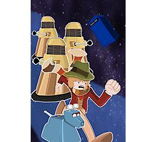 Doctor Who Adventure Time style Photographic Print