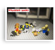 Welcome Back! Canvas Print