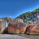 Squeaky Beach Boulders, Wilsons Promontory, Victoria by Adrian Paul