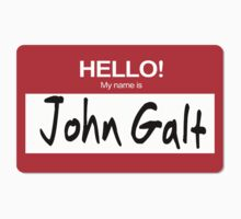 Hello My Name Is John Galt Atlas Big Brother by 8675309