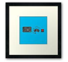 #39 Sega Megadrive Framed Print