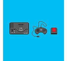 #39 Sega Megadrive Photographic Print