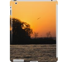 Greeting the Day in Flight  iPad Case/Skin