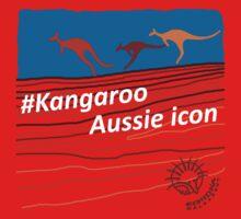 #Kangaroo - Aussie Icon One Piece - Short Sleeve