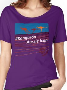 #Kangaroo - Aussie Icon Women's Relaxed Fit T-Shirt