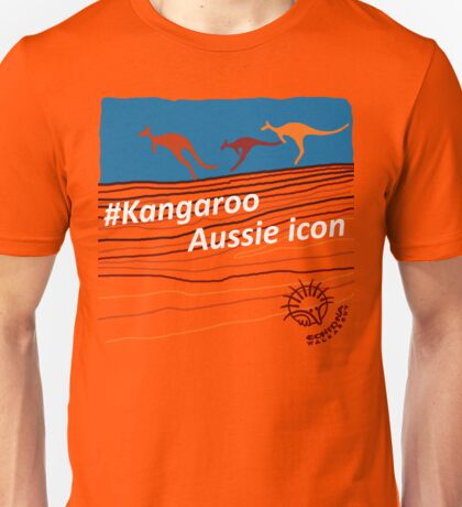 #Kangaroo - Aussie Icon Unisex T-Shirt