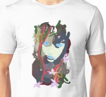 Girl With Nature Unisex T-Shirt