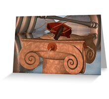 ON THE RIVER STYX Greeting Card