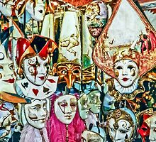 Masks of Venice by MILAKOS