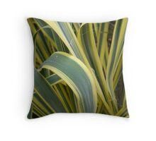 Ribbon Grass Throw Pillow