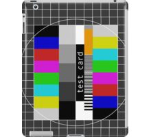 The Test Card iPad Case/Skin